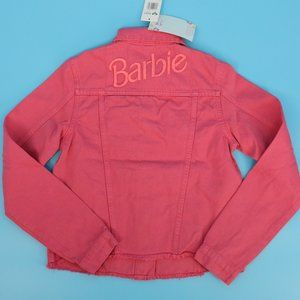 Barbie x Roxy Tigers Eyes Embroidered Denin Jacket